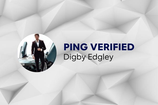 Ping Verified - Digby Edgley
