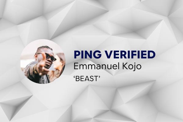 Ping Verified - Emmanuel Kojo