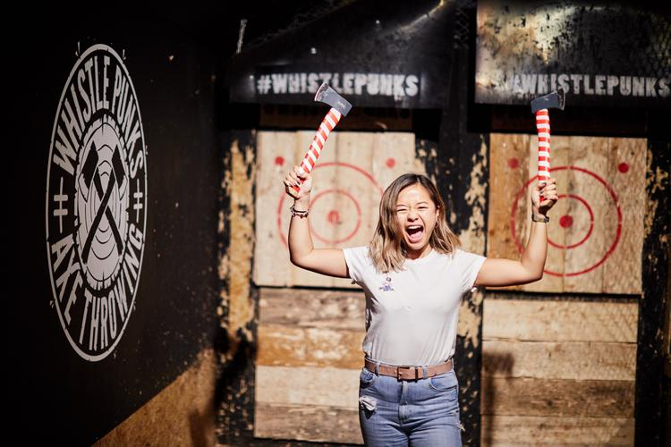 Image 1 from Whistle Punks Urban Axe Throwing's image gallery'