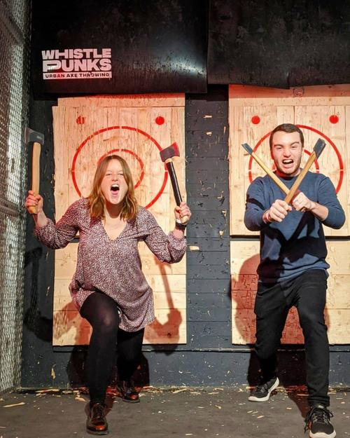 Image 2 from Whistle Punks Urban Axe Throwing's image gallery'