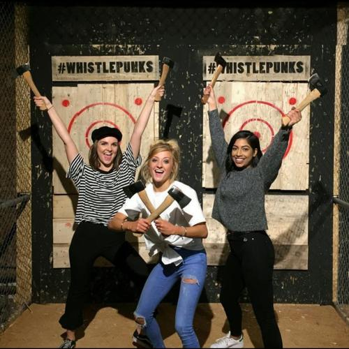 Image 5 from Whistle Punks Urban Axe Throwing's image gallery'