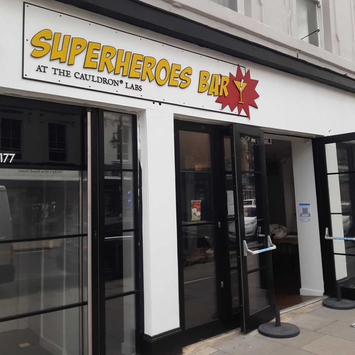 Superheroes Bar