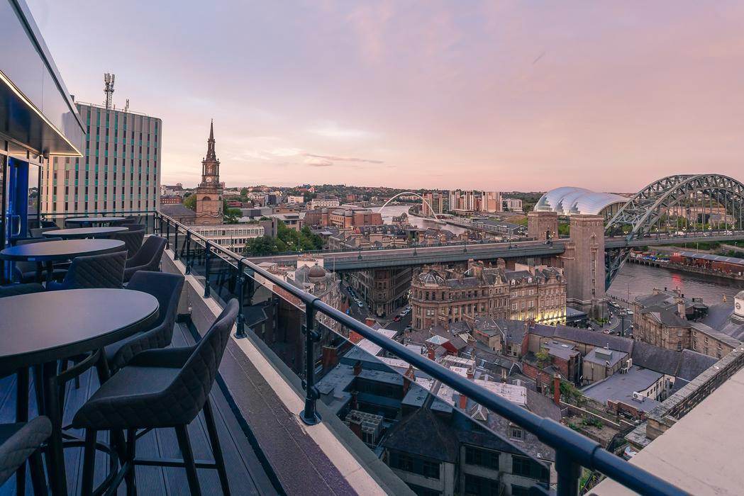 Above Newcastle