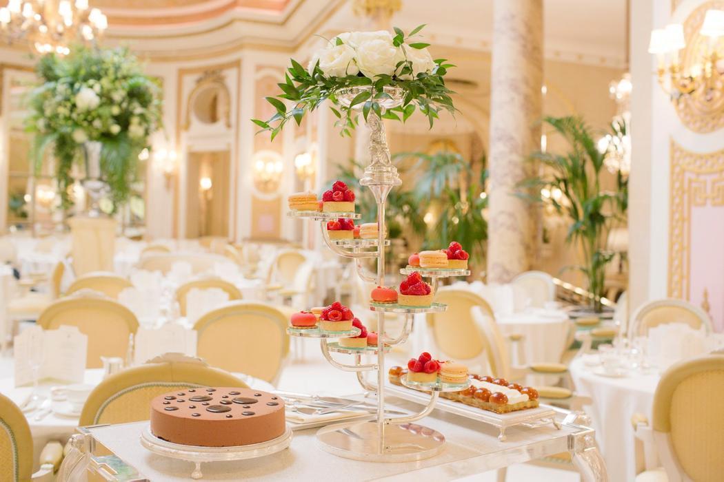 Tea Room At The Ritz