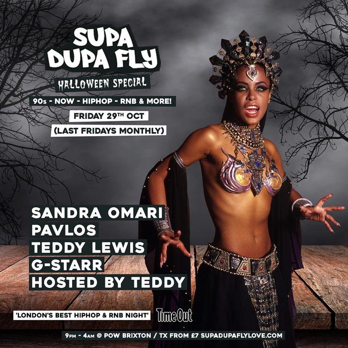 Supa Dupa Fly X Halloween's event image