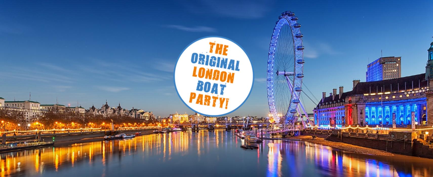 London's ORIGINAL boat party's event image