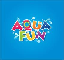 AquaFun Water Park's logo