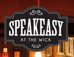 Speakeasy - The Wick Inn's logo