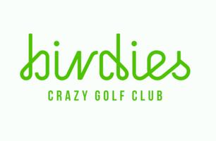 Birdies Miniature Golf's logo