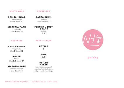 Menu 1 from NT's Loft's menu images'