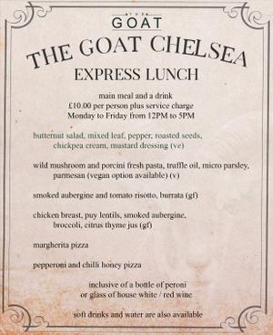 Menu 4 from Goat's menu images'